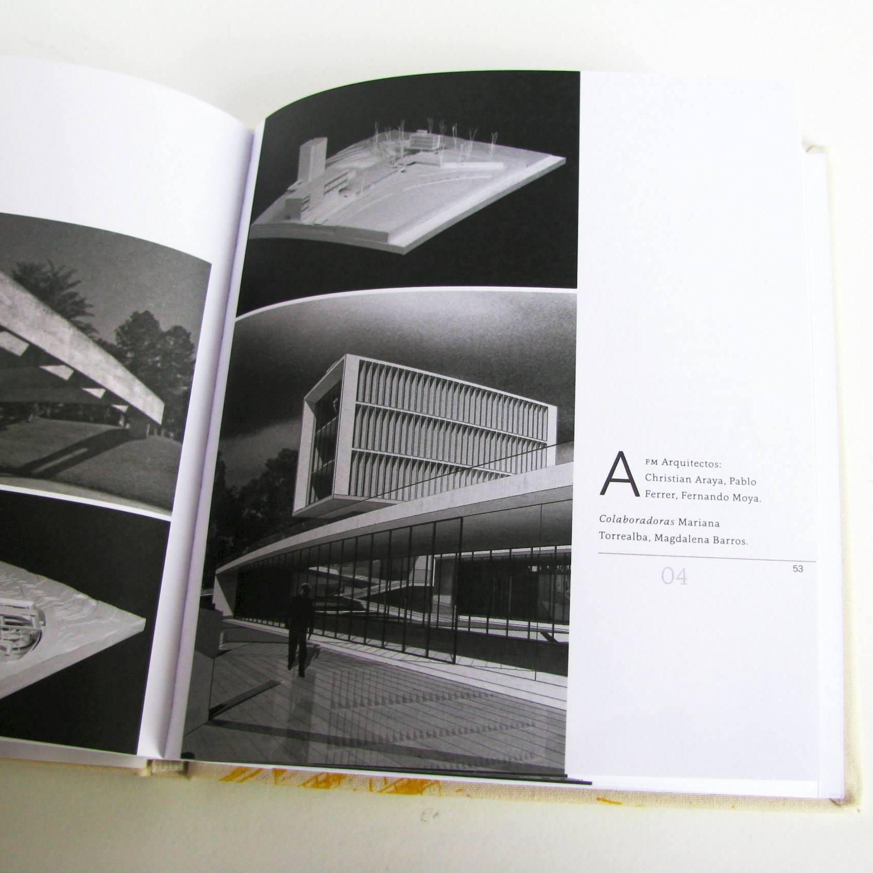 Publicación Libro Obras Concurso Aula Magna Escuela Naval