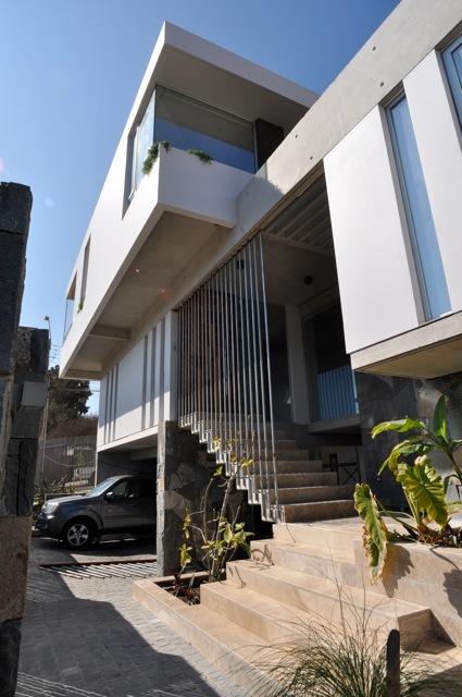 Casa YM_Acceso Principal